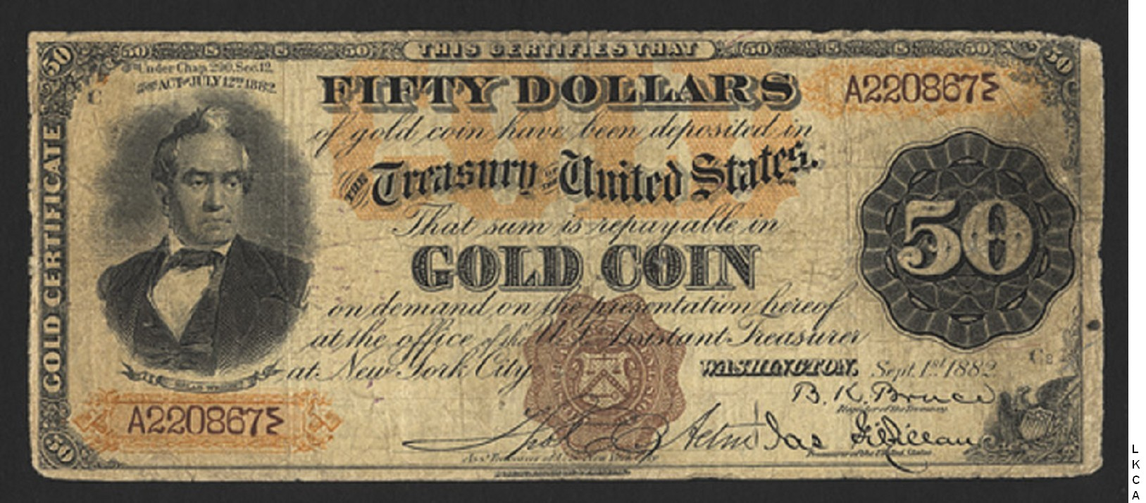 Large size gold certificates 50 dollars 1betcityfo Gallery